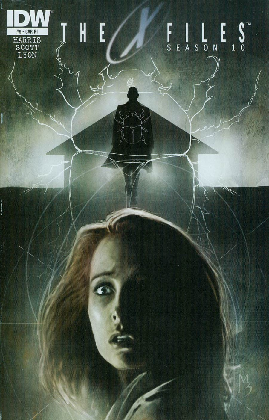 X-Files Season 10 #9 Cover C Incentive Menton3 Variant Cover
