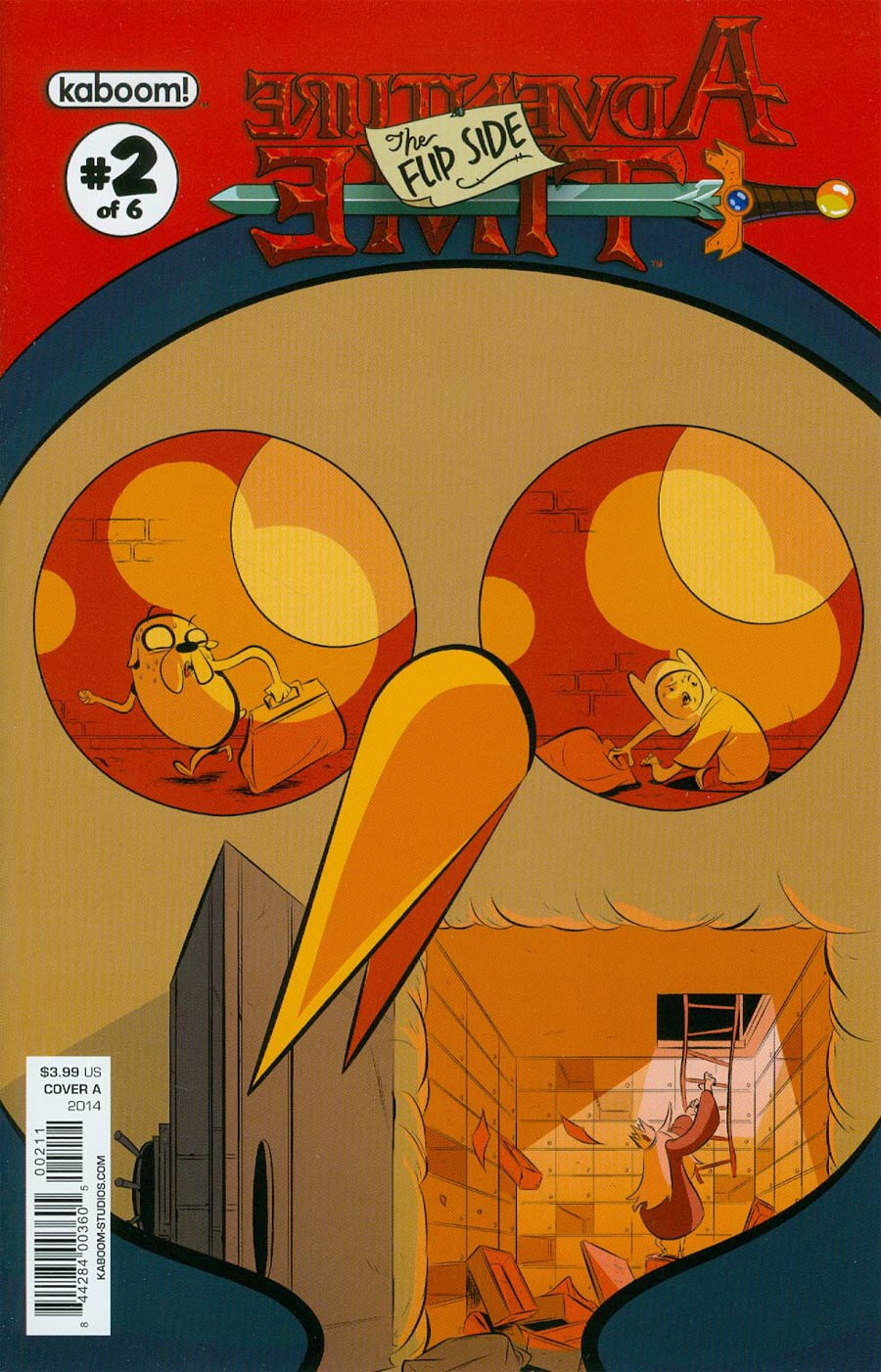 Adventure Time Flip Side #2 Cover A Regular Wook Jin Clark Cover