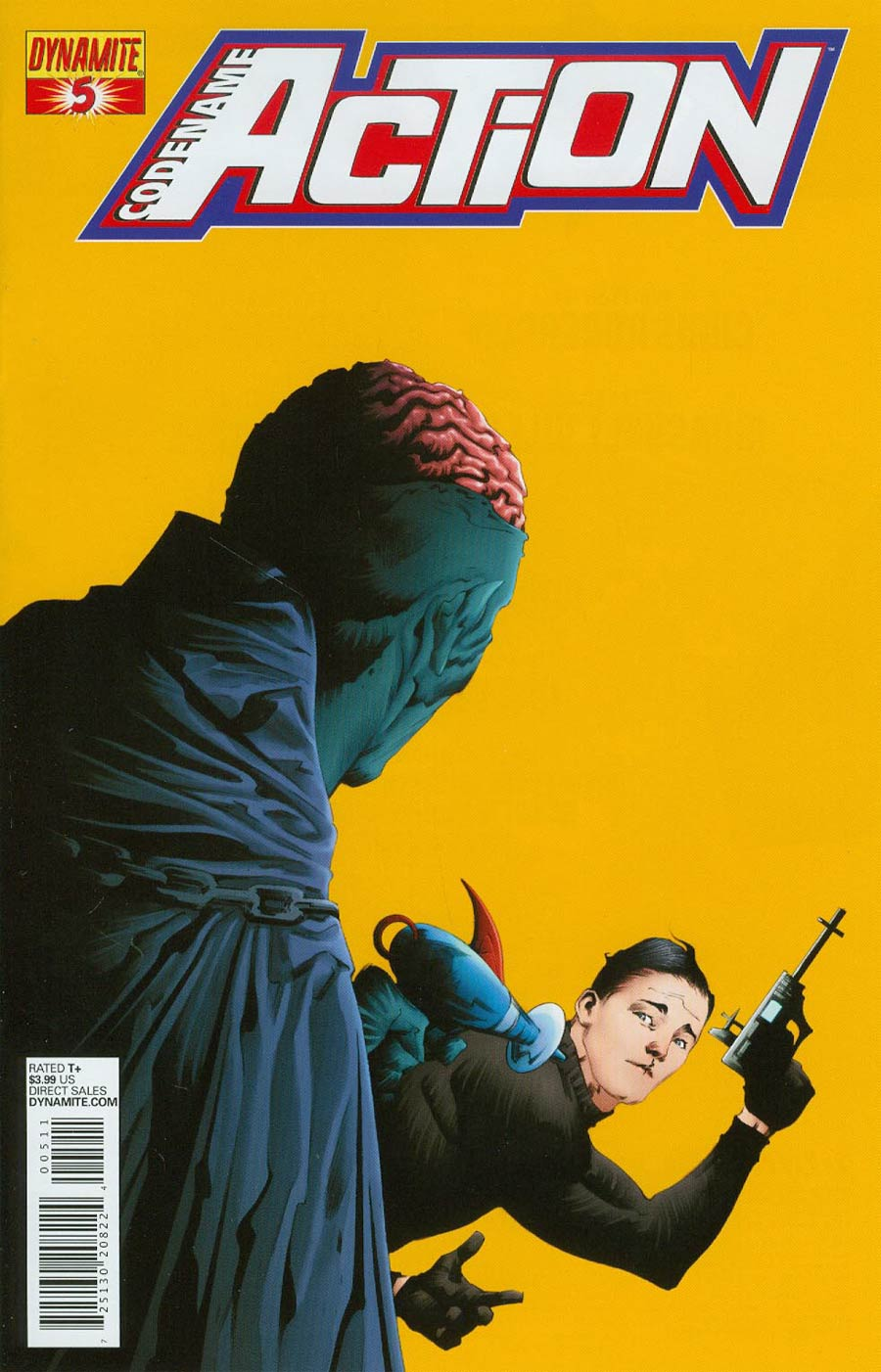 Codename Action #5 Cover A Regular Jae Lee Cover