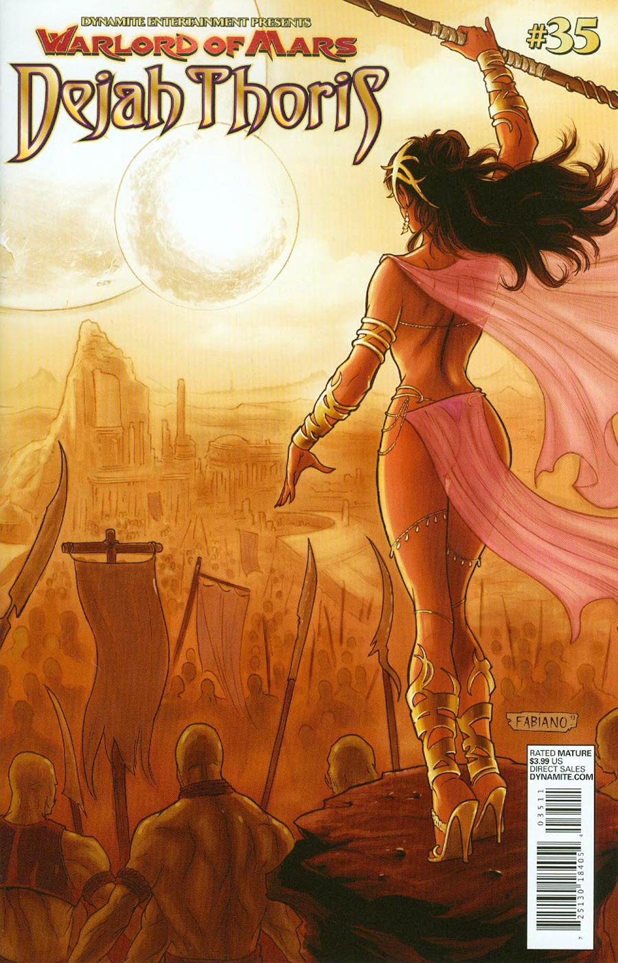 Warlord Of Mars Dejah Thoris #35 Cover A Regular Fabiano Neves Cover