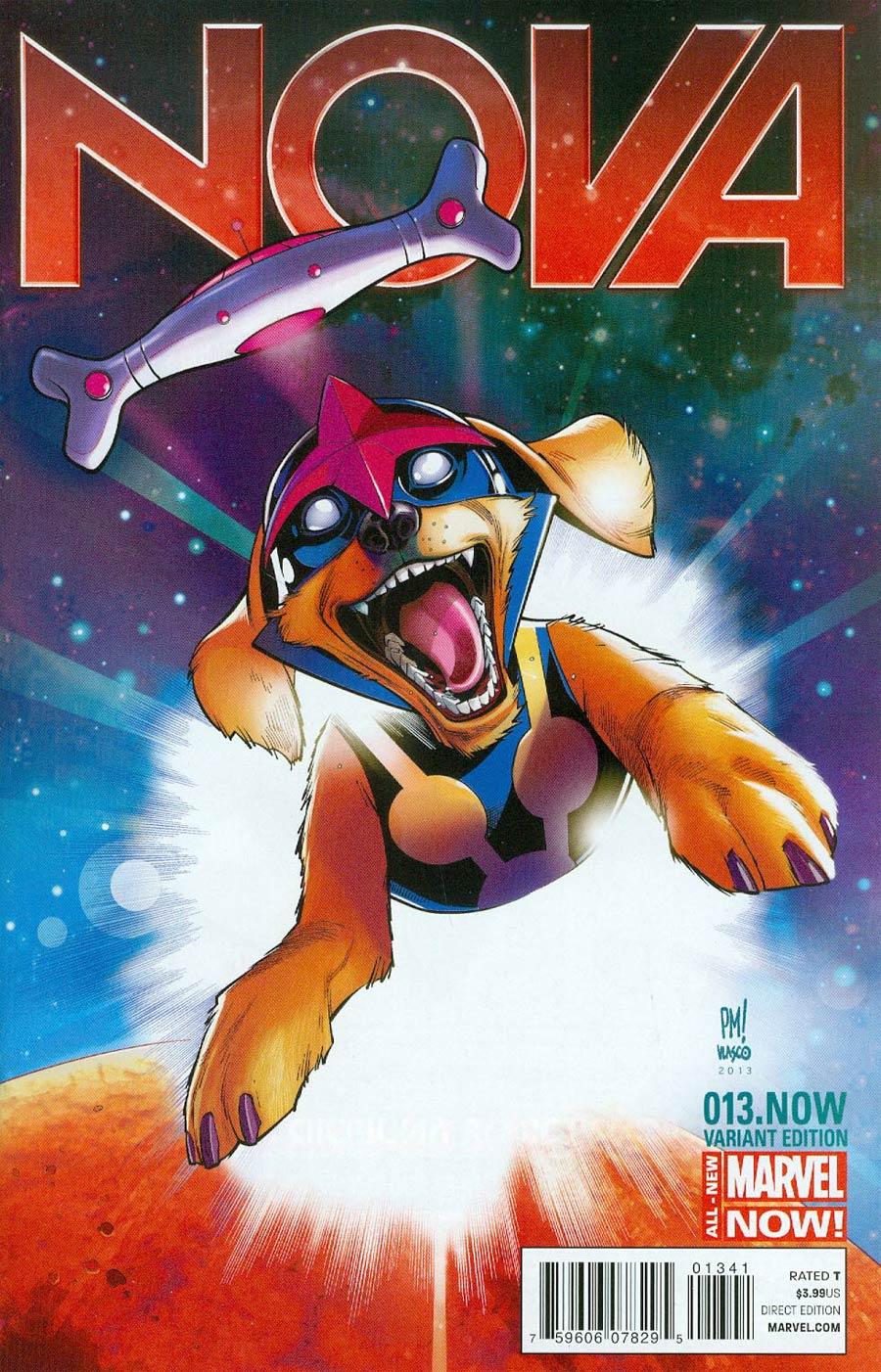 Nova Vol 5 #13.NOW Cover B Variant Paco Medina Animal Cover