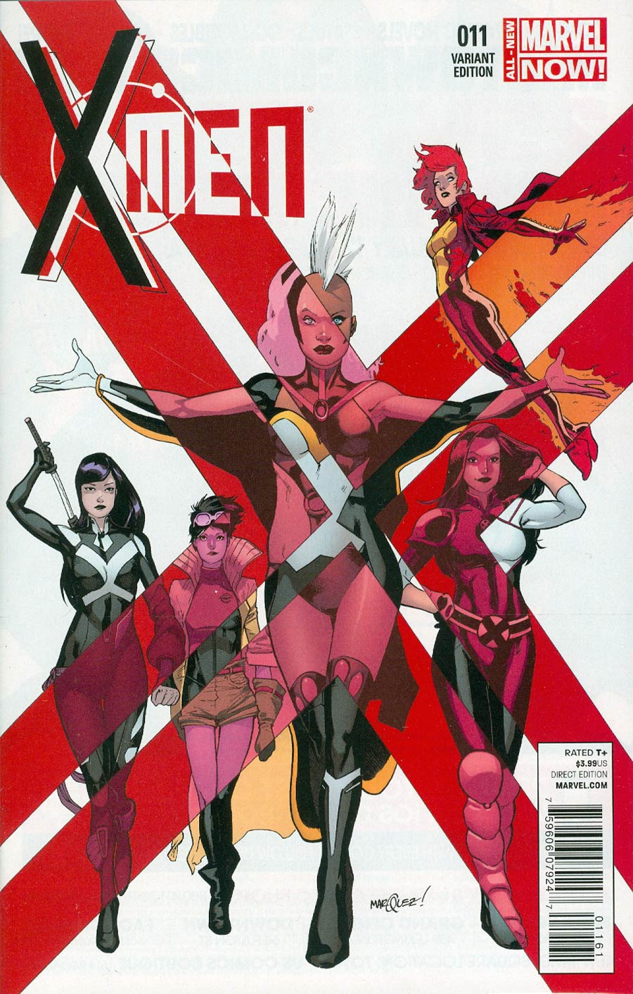 X-Men Vol 4 #11 Cover B Incentive David Marquez Variant Cover
