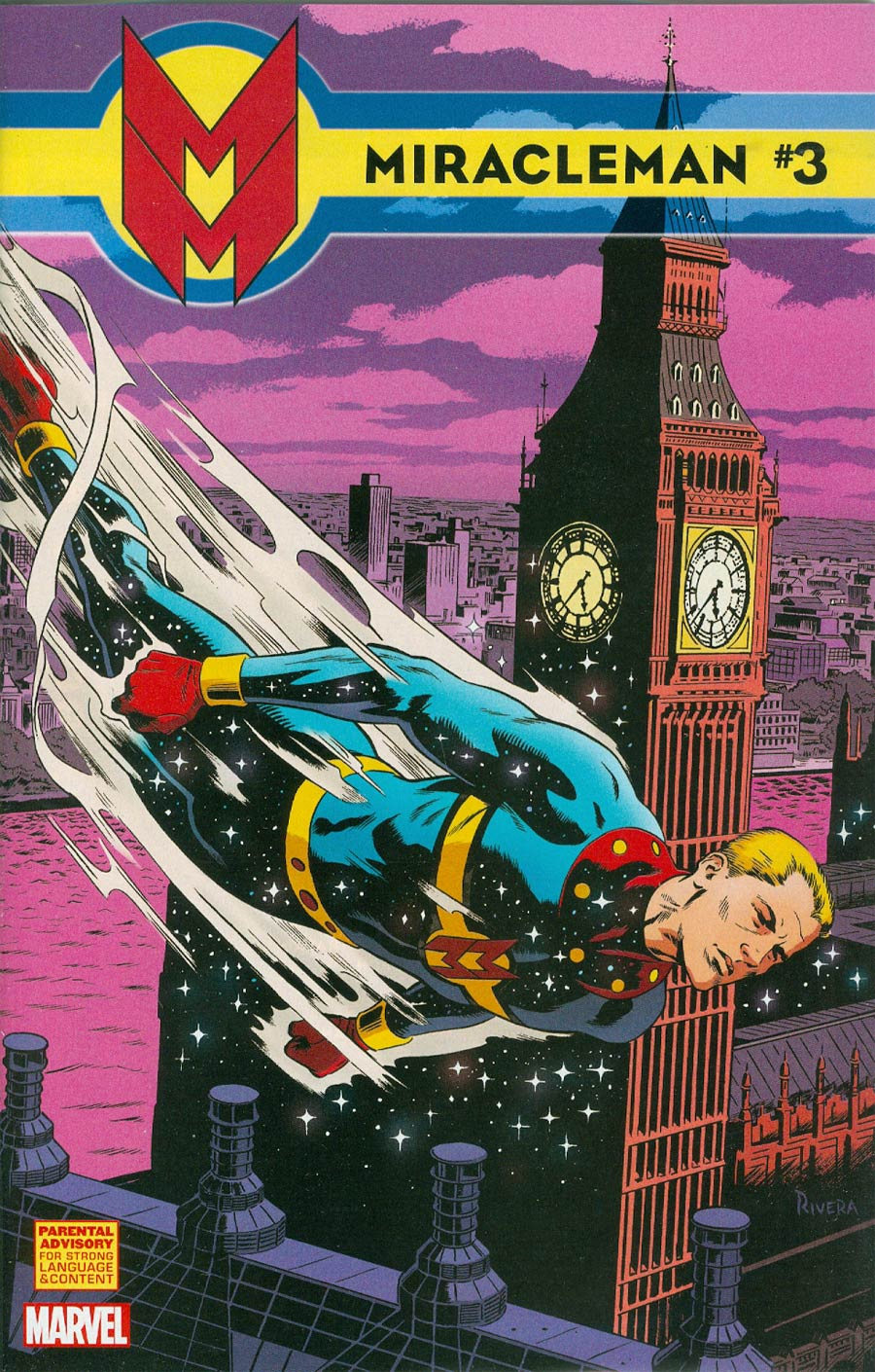 Miracleman (Marvel) #3 Cover D Incentive Paolo Rivera Variant Cover