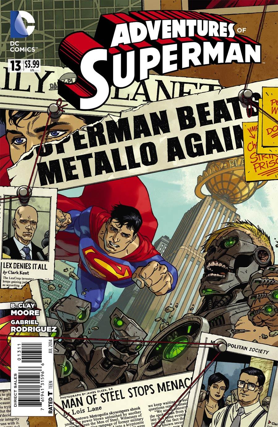 Adventures Of Superman Vol 2 #13
