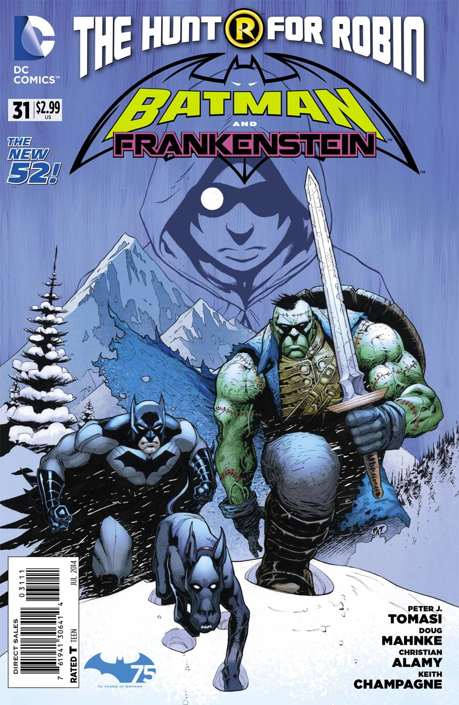 Batman And Frankenstein #31 Cover A Regular Patrick Gleason Cover