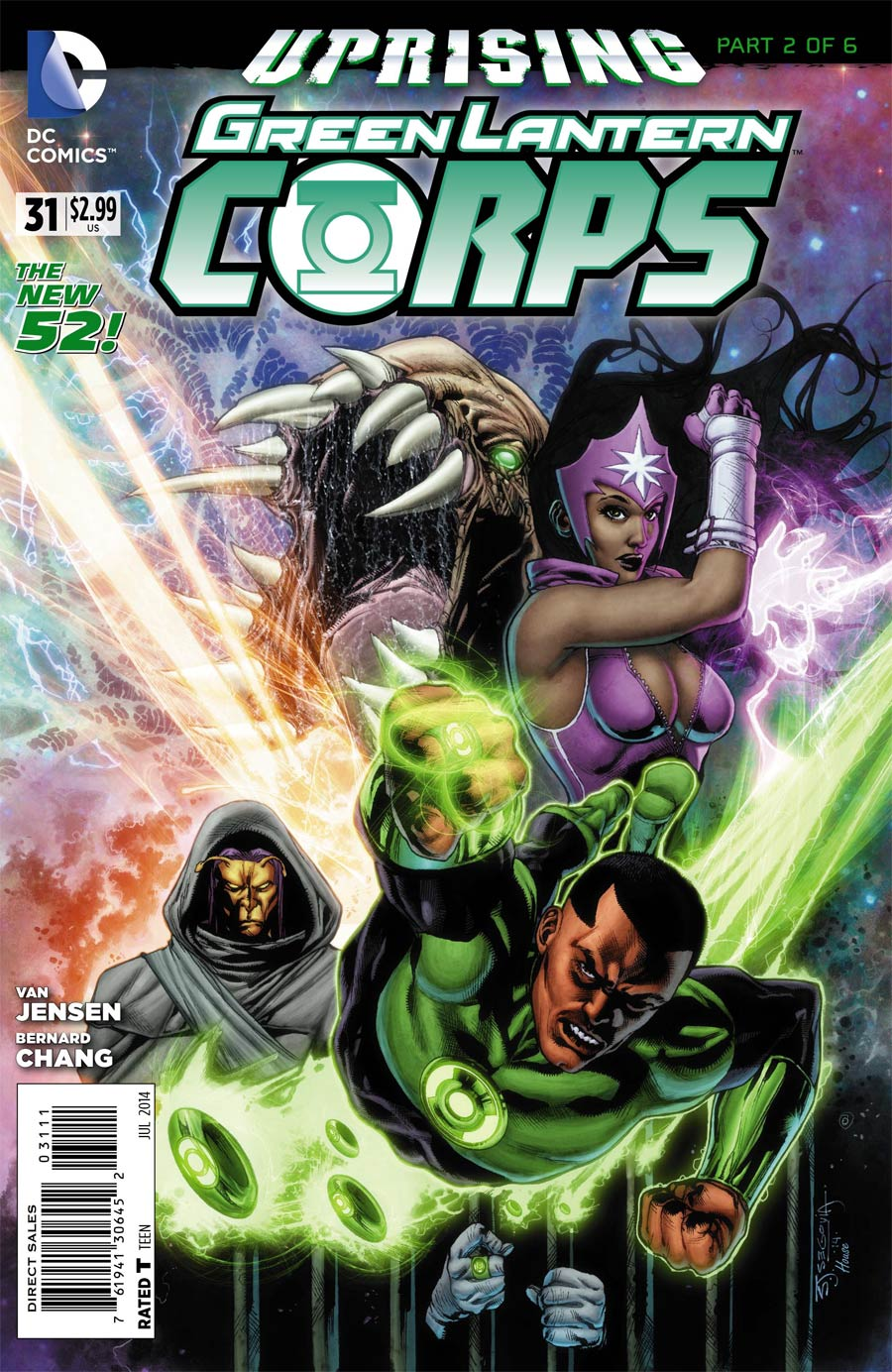 Green Lantern Corps Vol 3 #31 Cover A Regular Stephen Segovia Cover (Uprising Part 2)