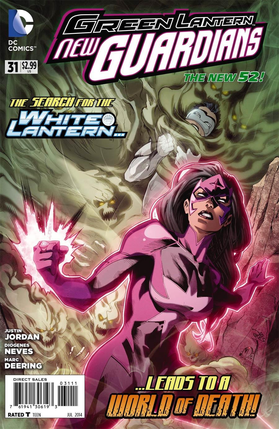 Green Lantern New Guardians #31