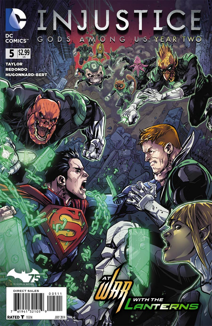Injustice Gods Among Us Year Two #5