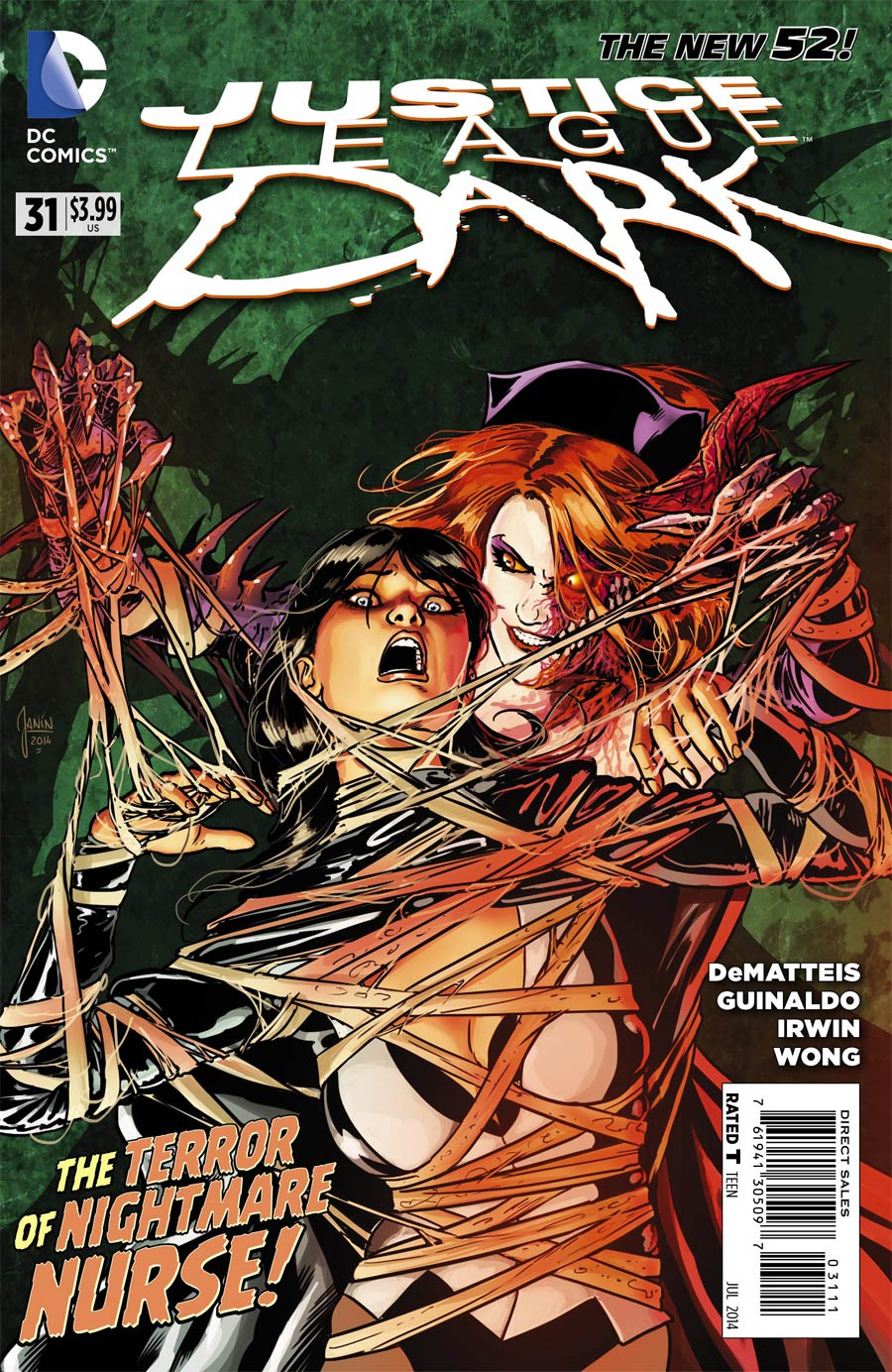 Justice League Dark #31 Cover A Regular Mikel Janin Cover