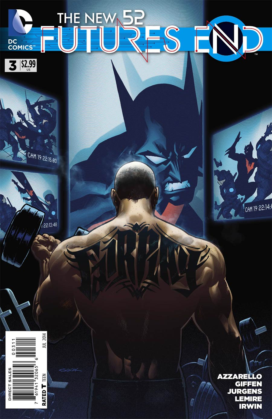 New 52 Futures End #3