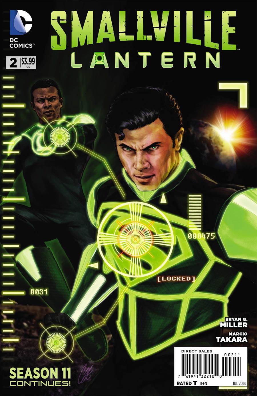 Smallville Season 11 Lantern #2