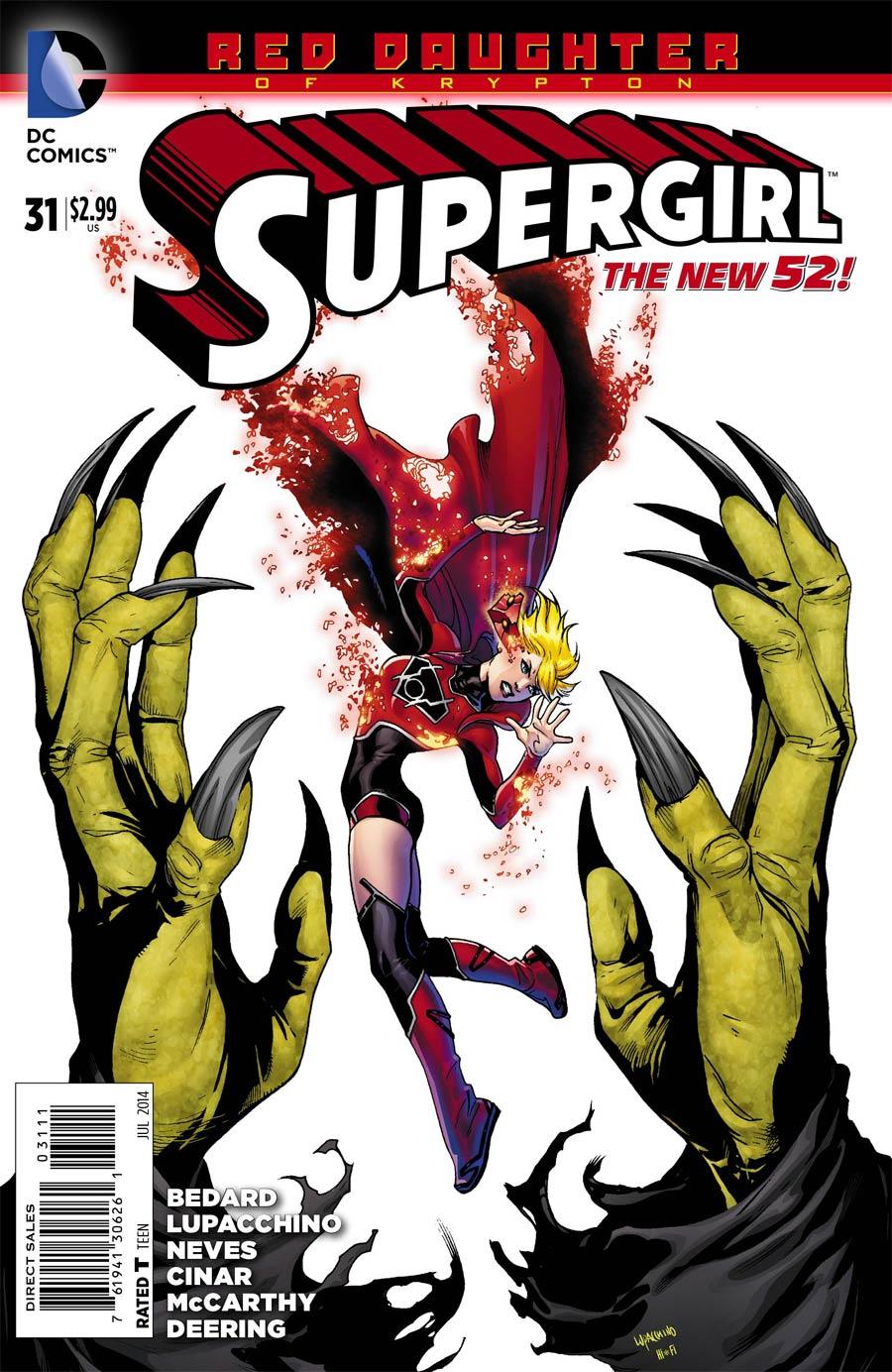 Supergirl Vol 6 #31 (Red Daughter Of Krypton Tie-In)
