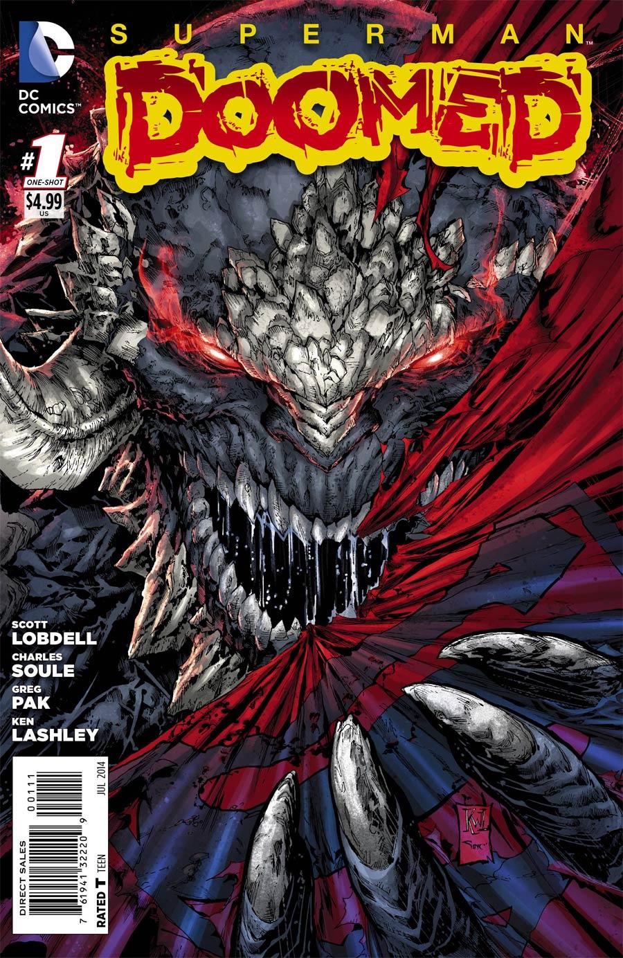 Superman Doomed #1 Cover A 1st Ptg Regular Ken Lashley Cover