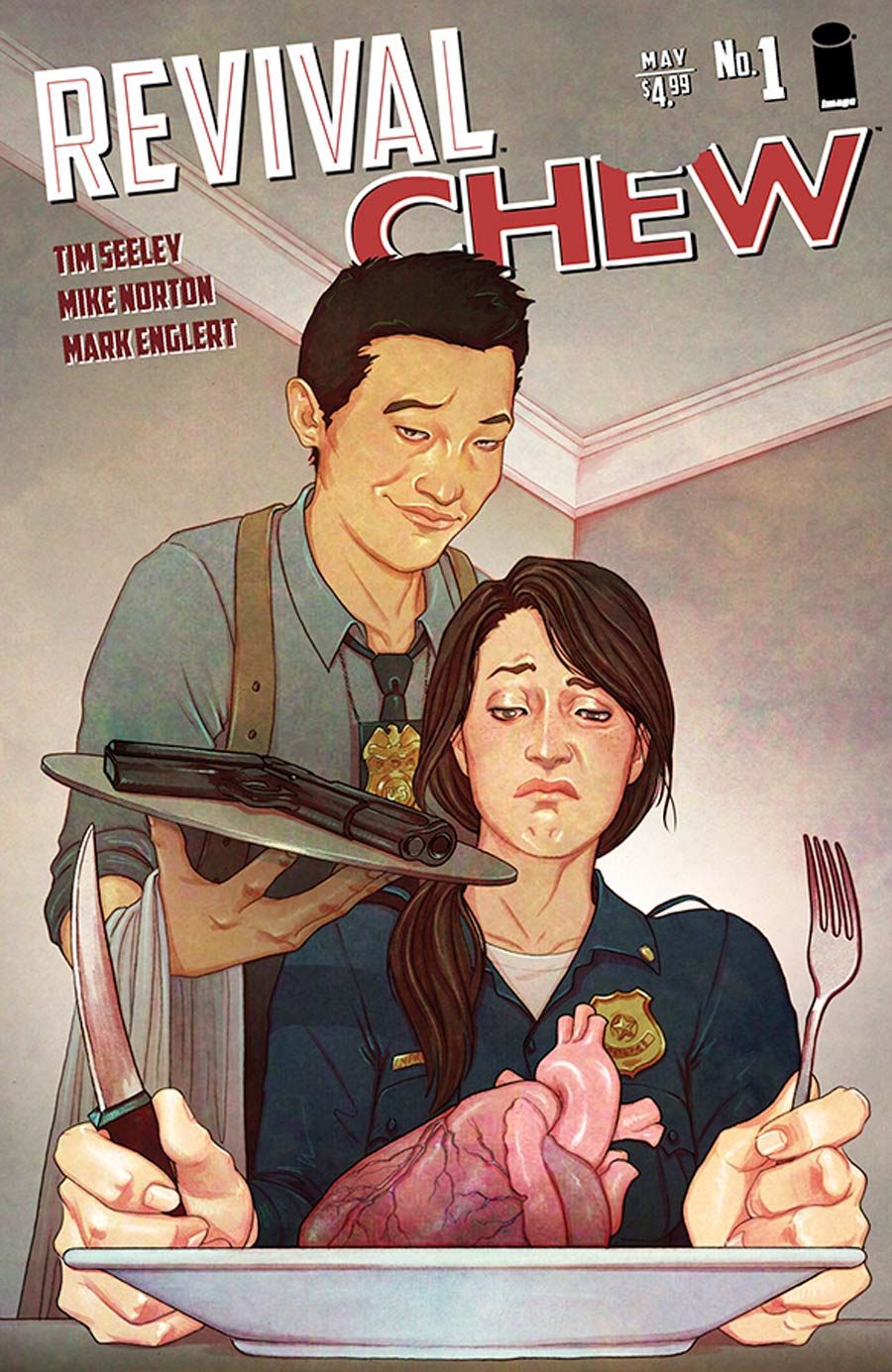 Chew / Revival #1 Cover A Regular Rob Guillory & Jenny Frison Cover