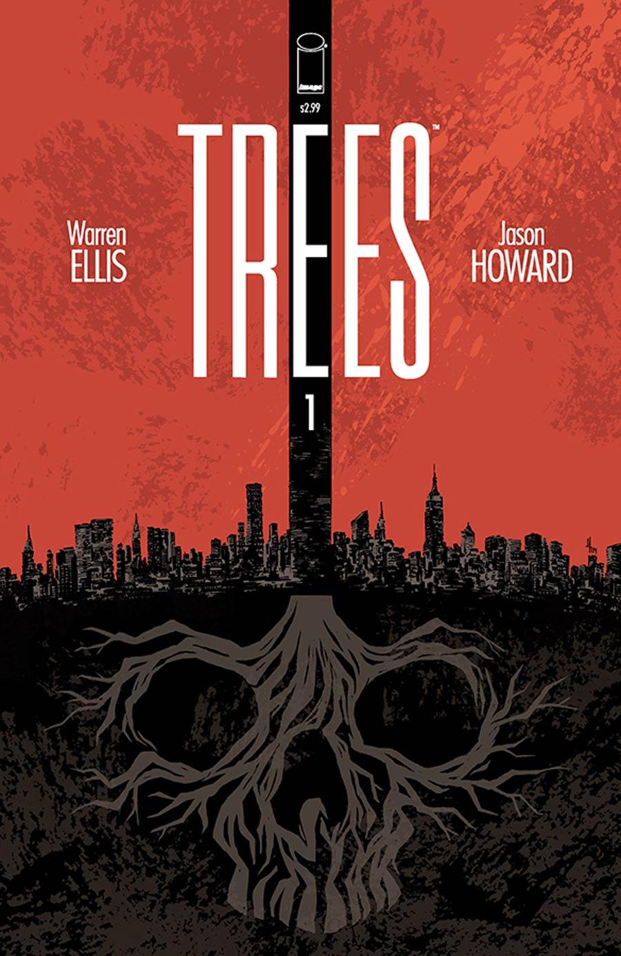 Trees #1 Cover A Regular Jason Howard Cover