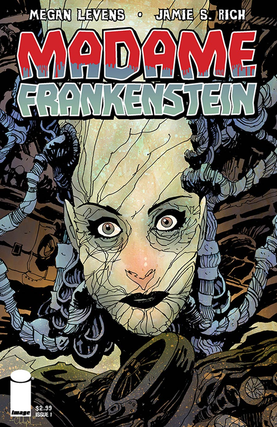 Madame Frankenstein #1 Cover B Christopher Mitten