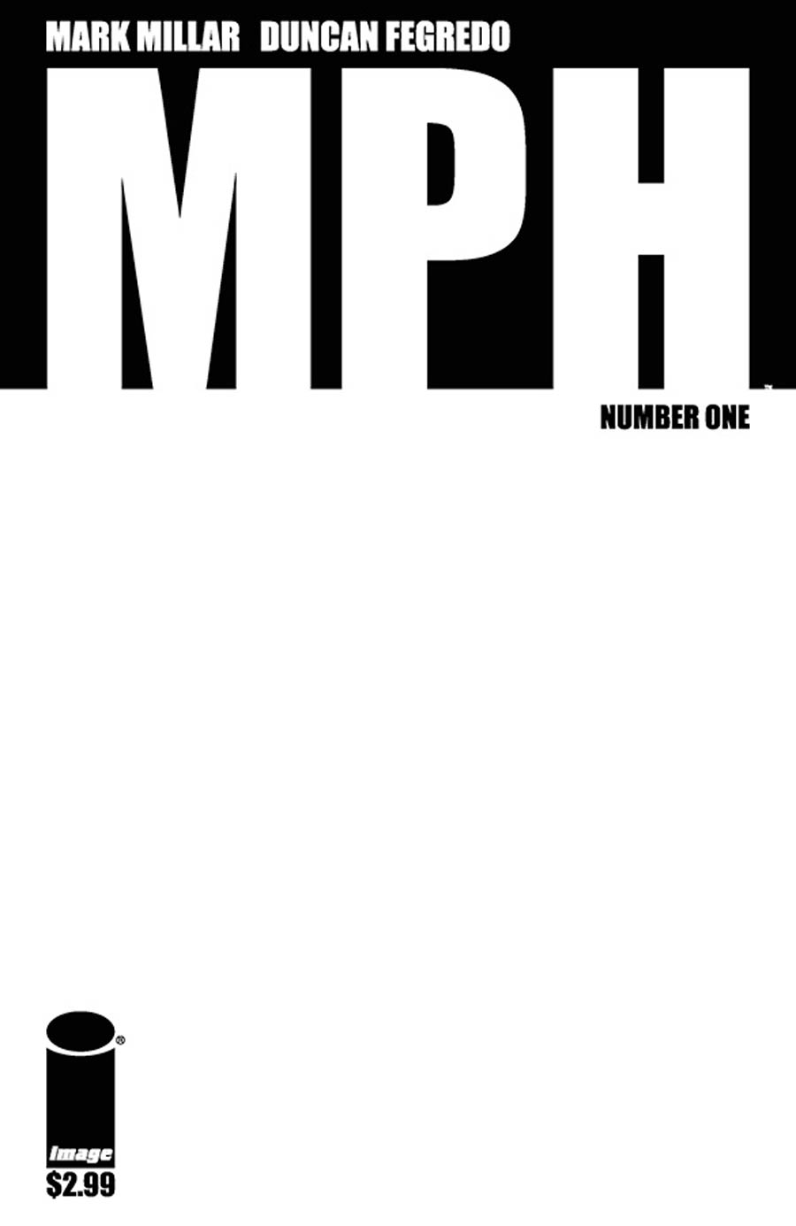 MPH #1 Cover C Blank Cover