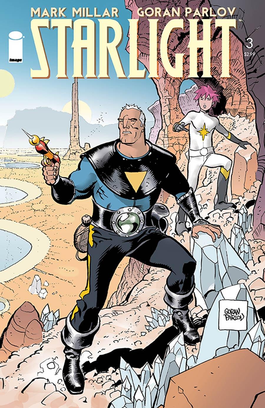 Starlight #3 Cover A Goran Parlov