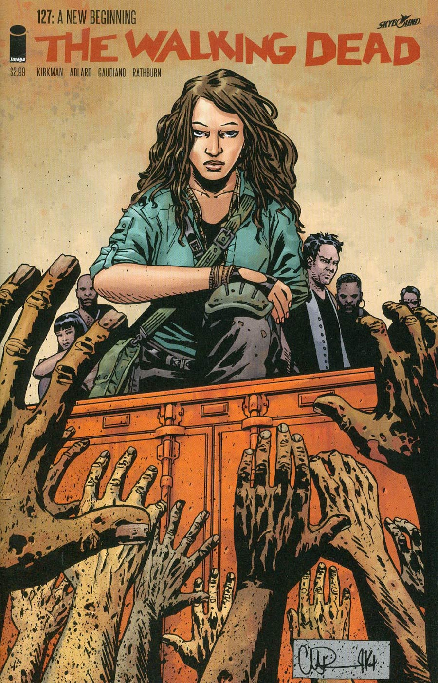 Walking Dead #127 Cover A 1st Ptg Regular Charlie Adlard Cover