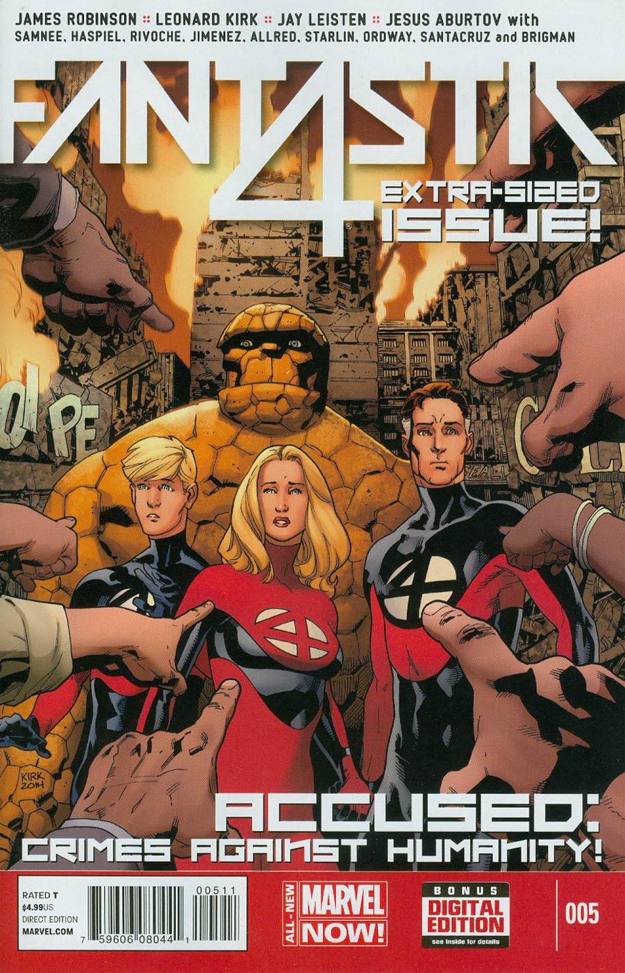 Fantastic Four Vol 5 #5 Cover A Regular Leonard Kirk Cover