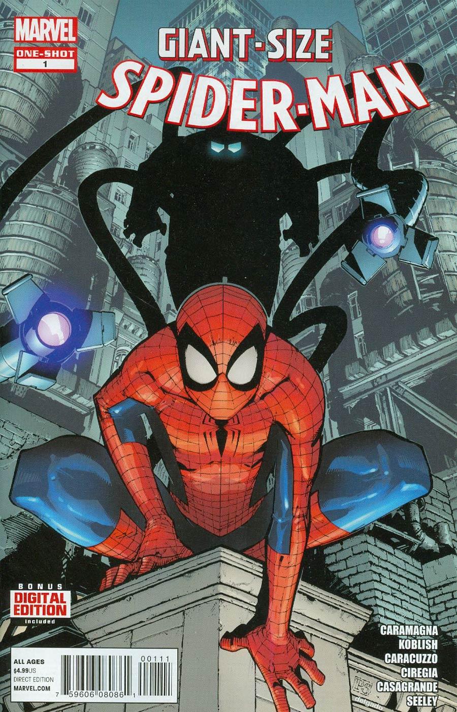 Giant Size Spider-Man Vol 2 #1