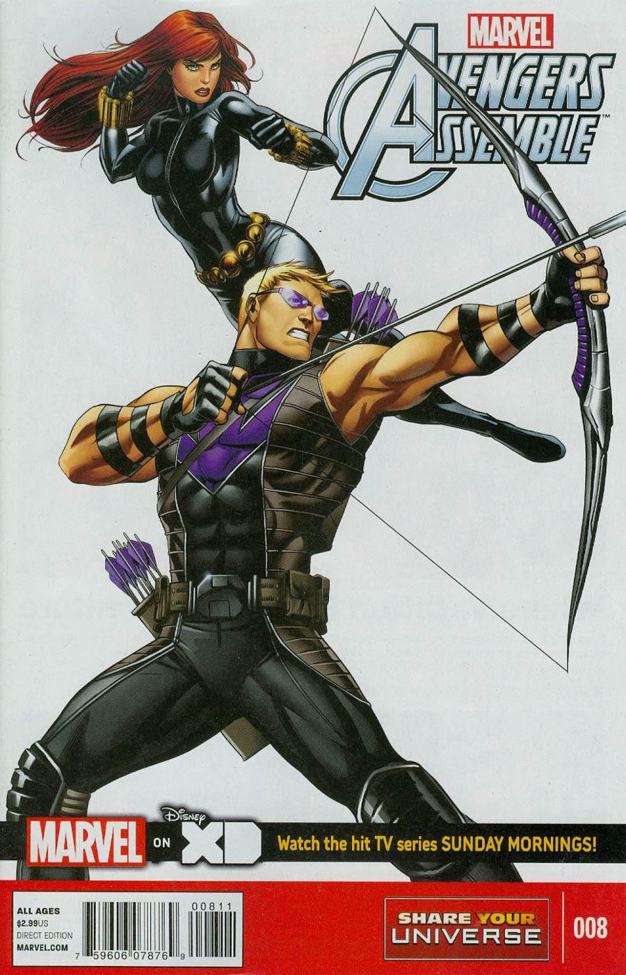 Marvel Universe Avengers Assemble #8