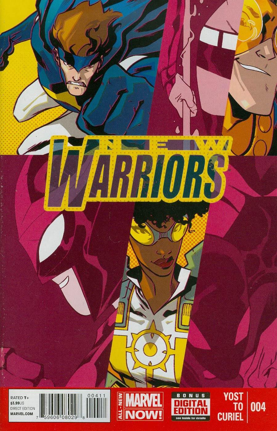 New Warriors Vol 5 #4