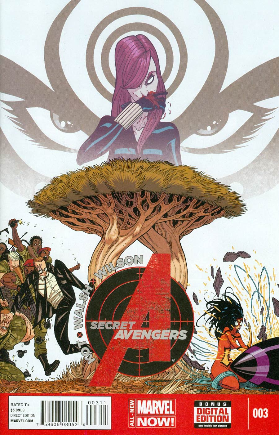 Secret Avengers Vol 3 #3 Cover A Regular Tradd Moore Cover