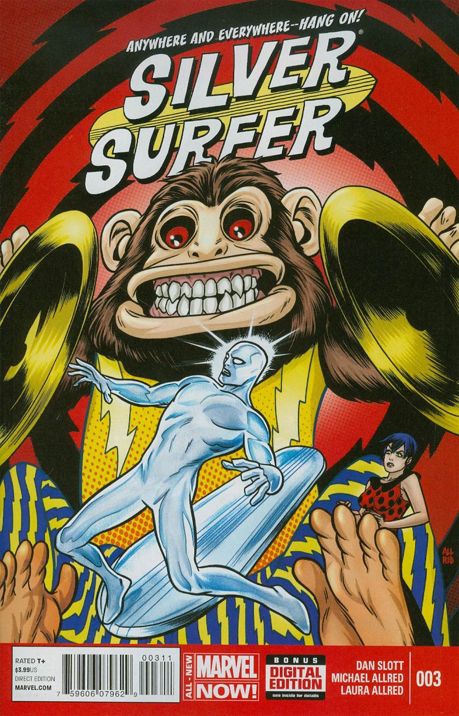 Silver Surfer Vol 6 #3 Cover A Regular Mike Allred Cover