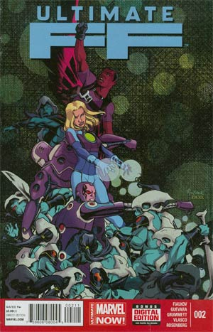 Ultimate FF #2 Cover A Regular Mike McKone Cover