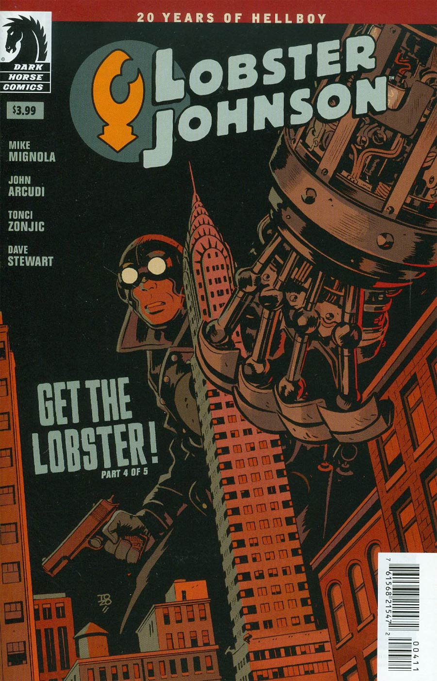 Lobster Johnson Get The Lobster #4