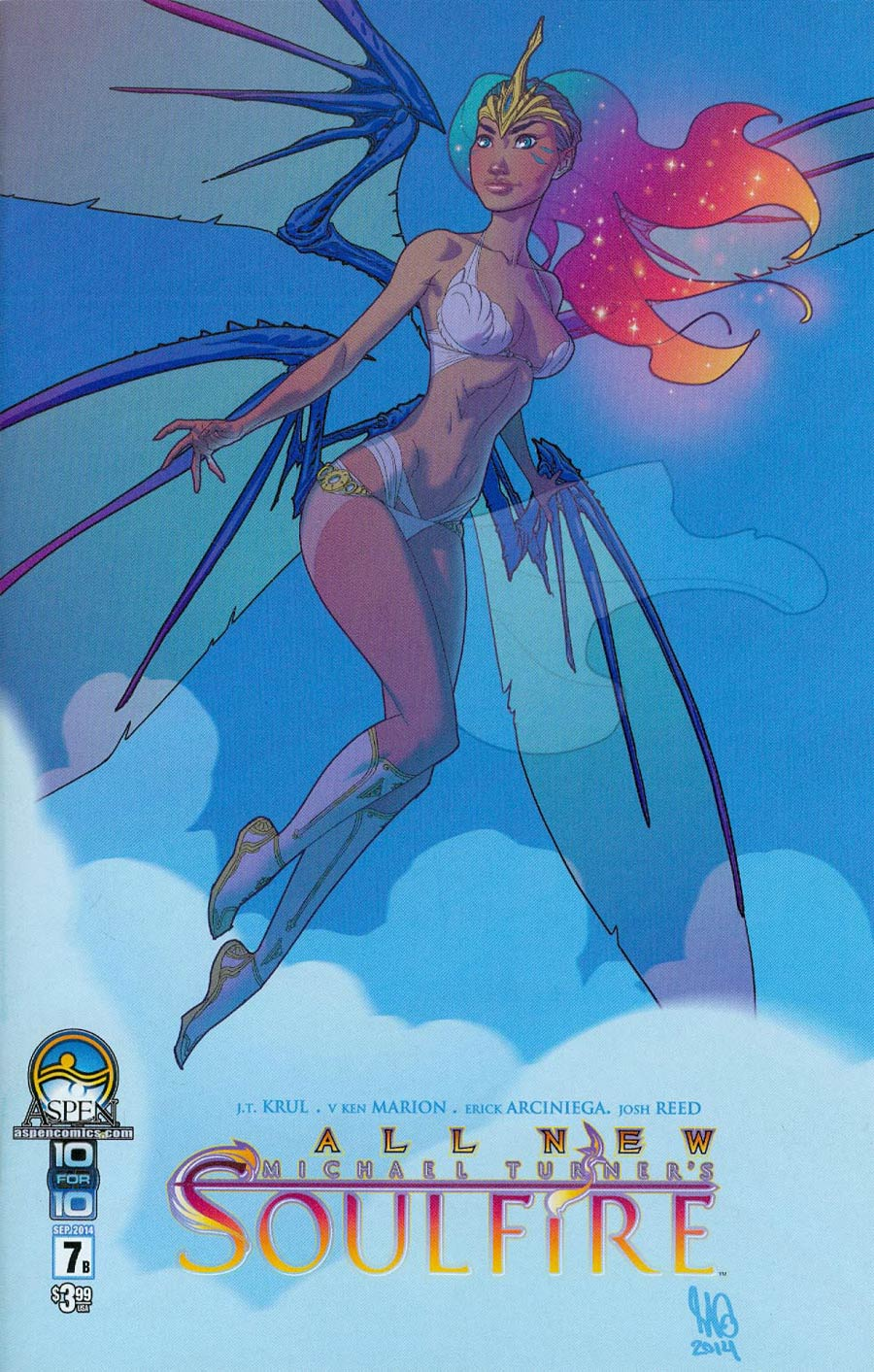 All New Soulfire #7 Cover B Micah Gunnell
