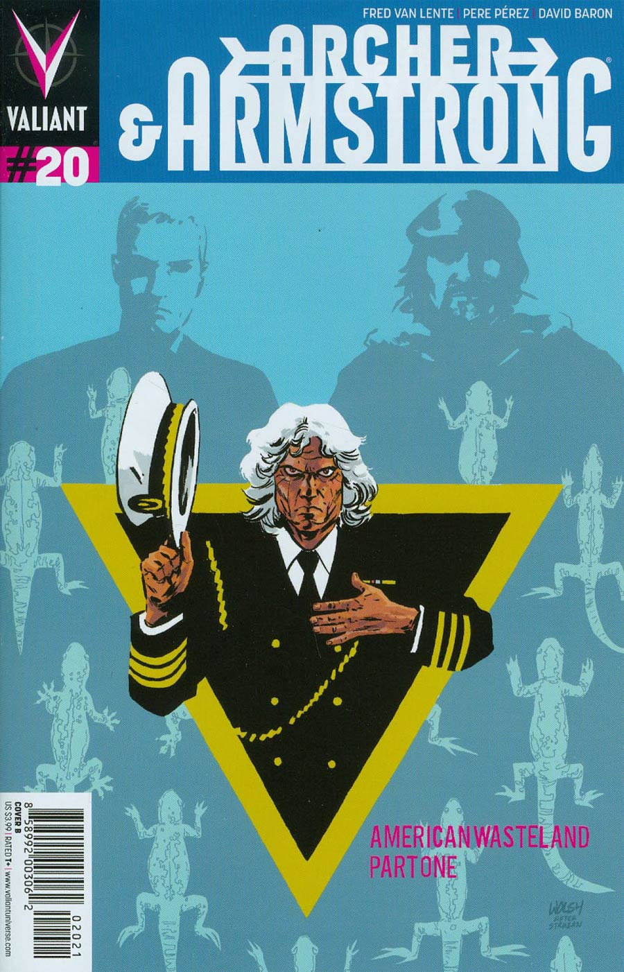Archer & Armstrong Vol 2 #20 Cover B Variant Michael Walsh Cover