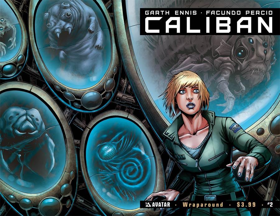 Caliban #2 Cover B Wraparound Cover