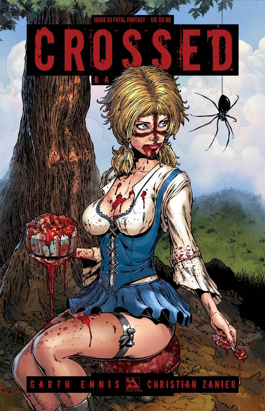 Crossed Badlands #53 Cover D Fatal Fantasy Cover