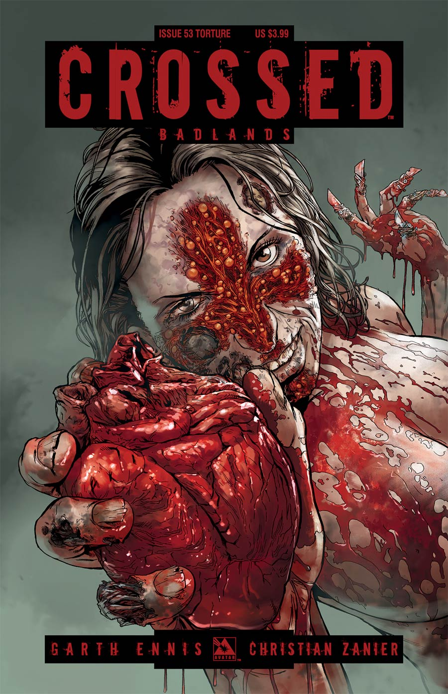 Crossed Badlands #53 Cover C Torture Cover