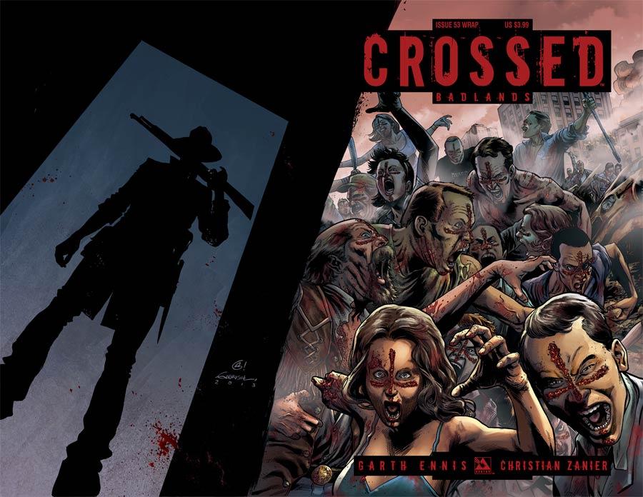 Crossed Badlands #53 Cover B Wraparound Cover