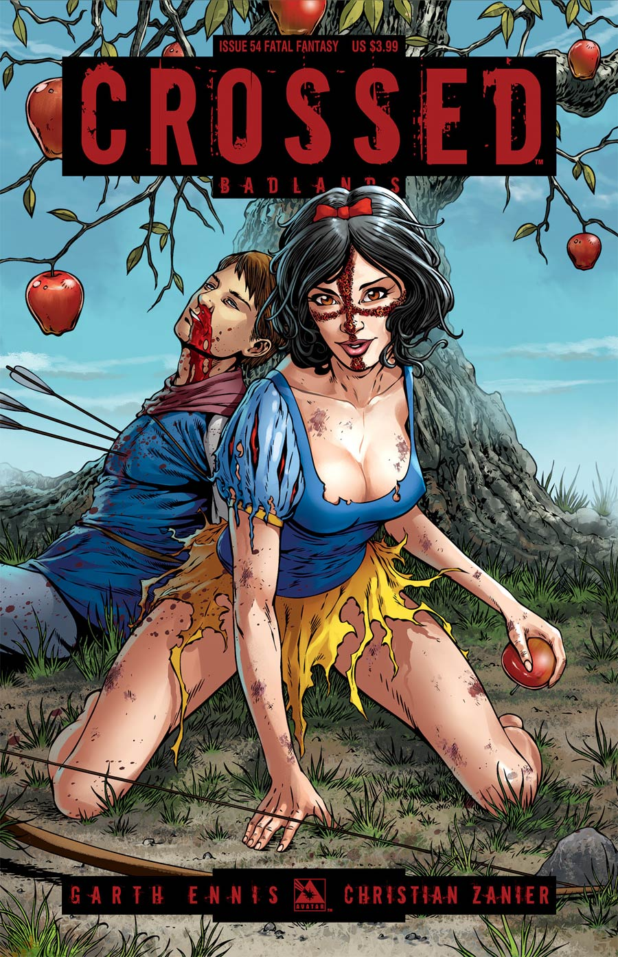 Crossed Badlands #54 Cover D Fatal Fantasy Cover