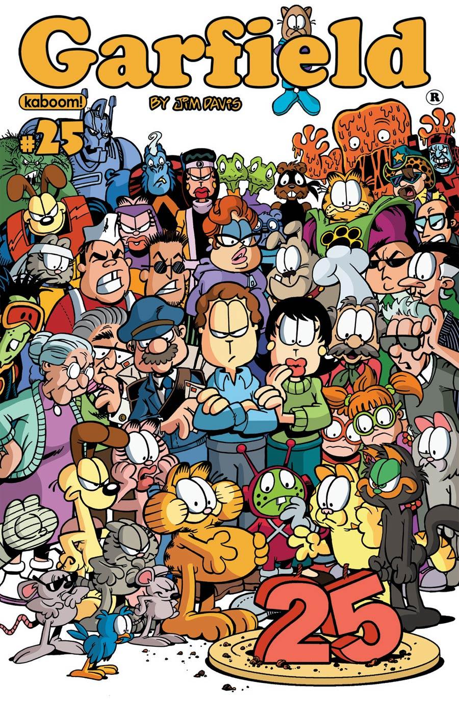 Garfield #25 Cover A Regular Gary Barker Cover