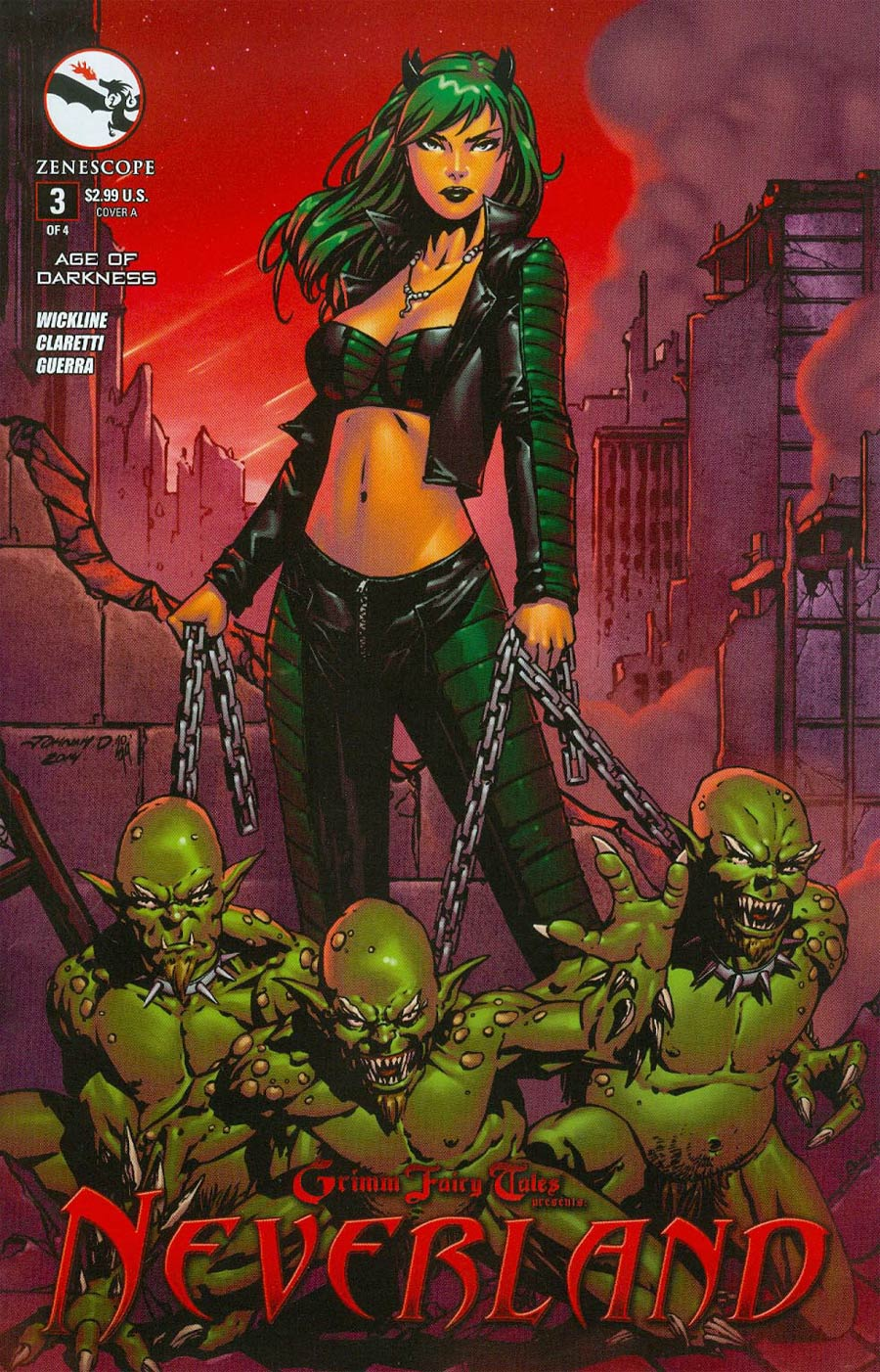 Grimm Fairy Tales Presents Neverland Age Of Darkness #3 Cover A Johnny Desjardins