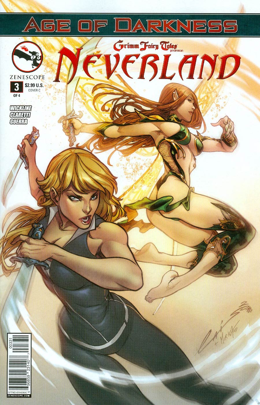 Grimm Fairy Tales Presents Neverland Age Of Darkness #3 Cover C Emilio Laiso