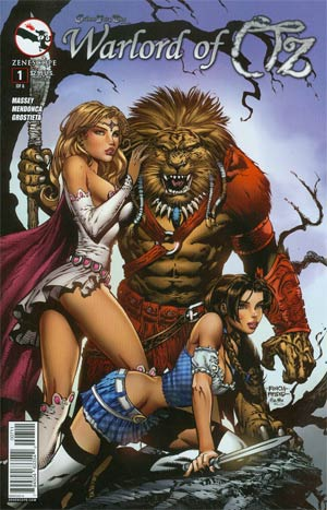 Grimm Fairy Tales Presents Warlord Of Oz #1 Cover A David Finch