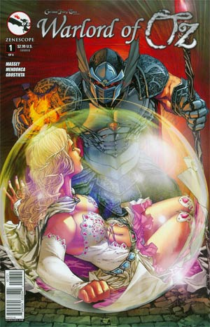 Grimm Fairy Tales Presents Warlord Of Oz #1 Cover B Talent Caldwell