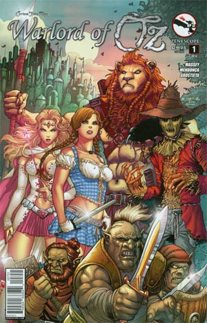 Grimm Fairy Tales Presents Warlord Of Oz #1 Cover E Richard Ortiz