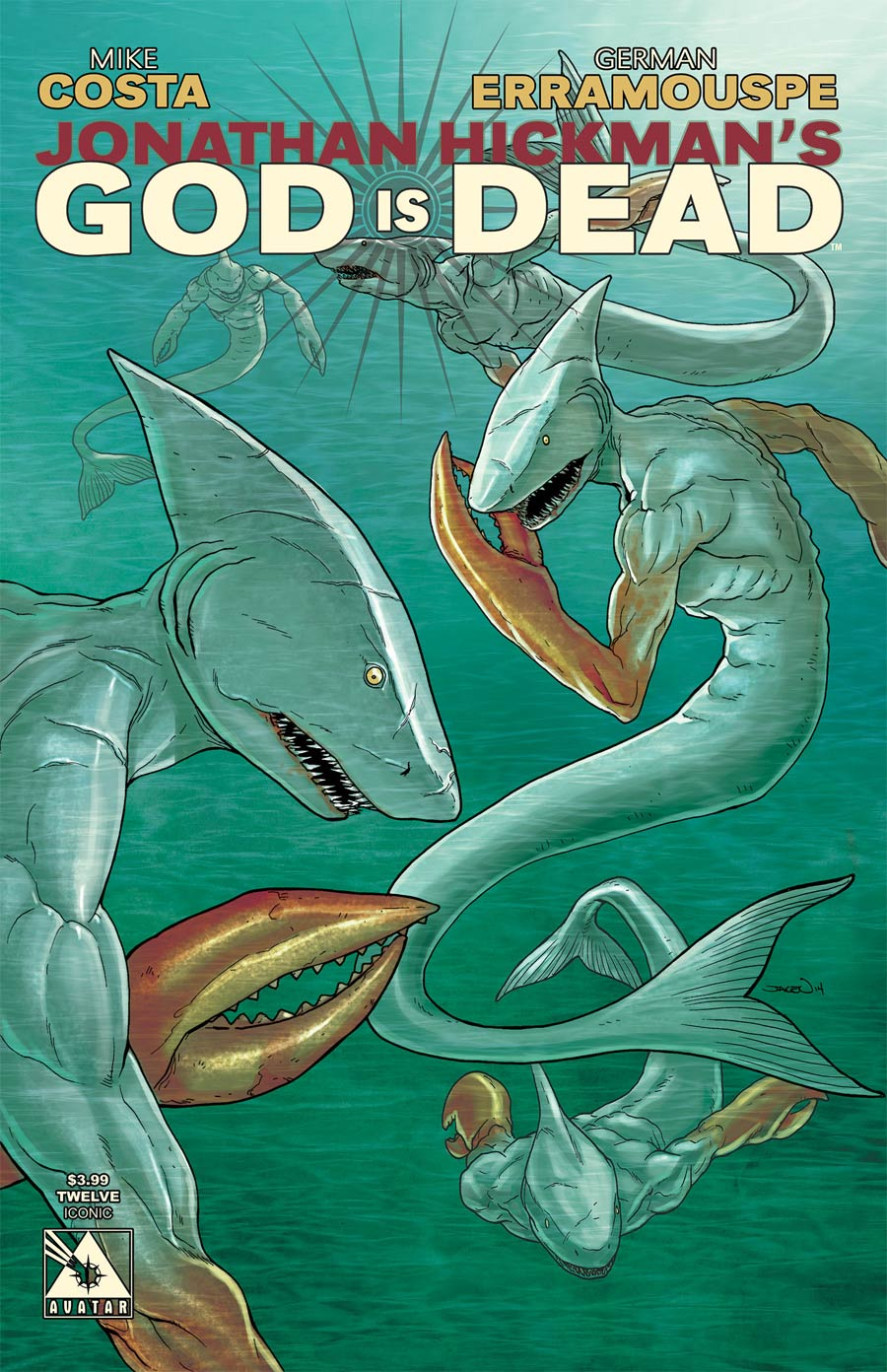 God Is Dead #12 Cover D Iconic Cover