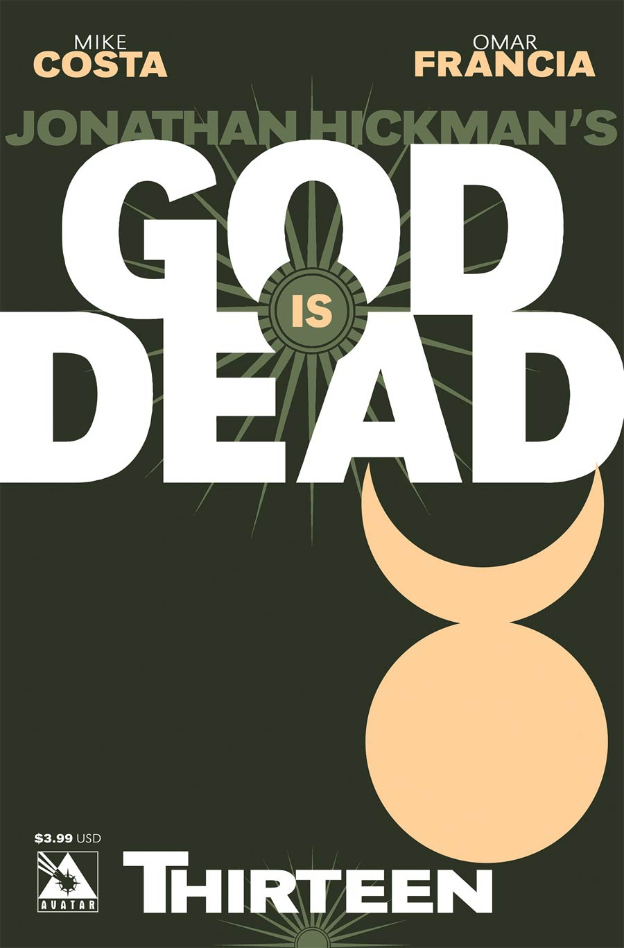 God Is Dead #13 Cover A Regular Cover