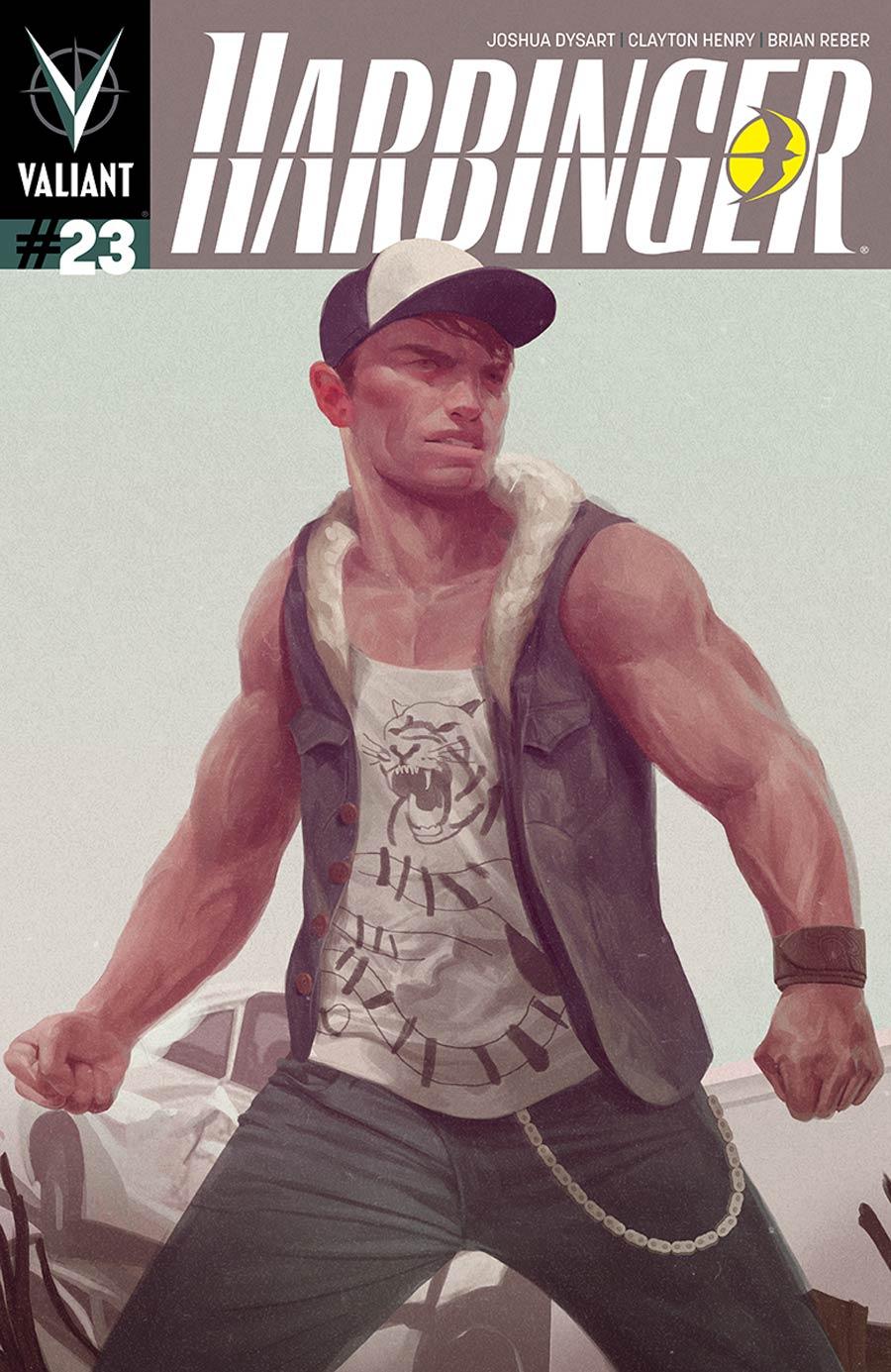 Harbinger Vol 2 #23 Cover B Variant Zachary Montoya Final Interlocking Variant Cover
