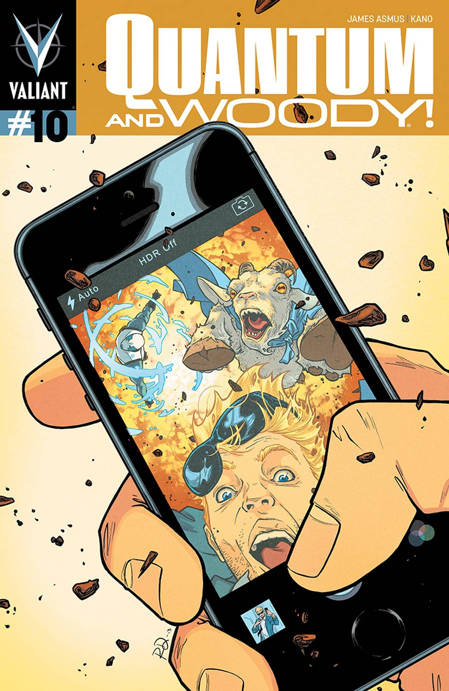 Quantum & Woody Vol 3 #10 Cover B Variant Russell Dauterman Cover