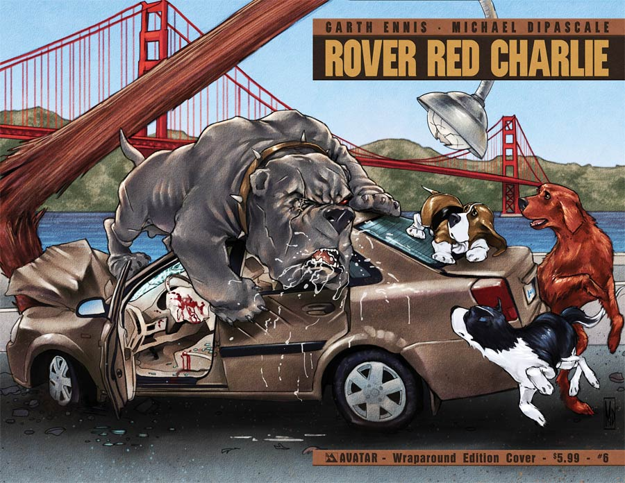 Rover Red Charlie #6 Cover B Wraparound Cover