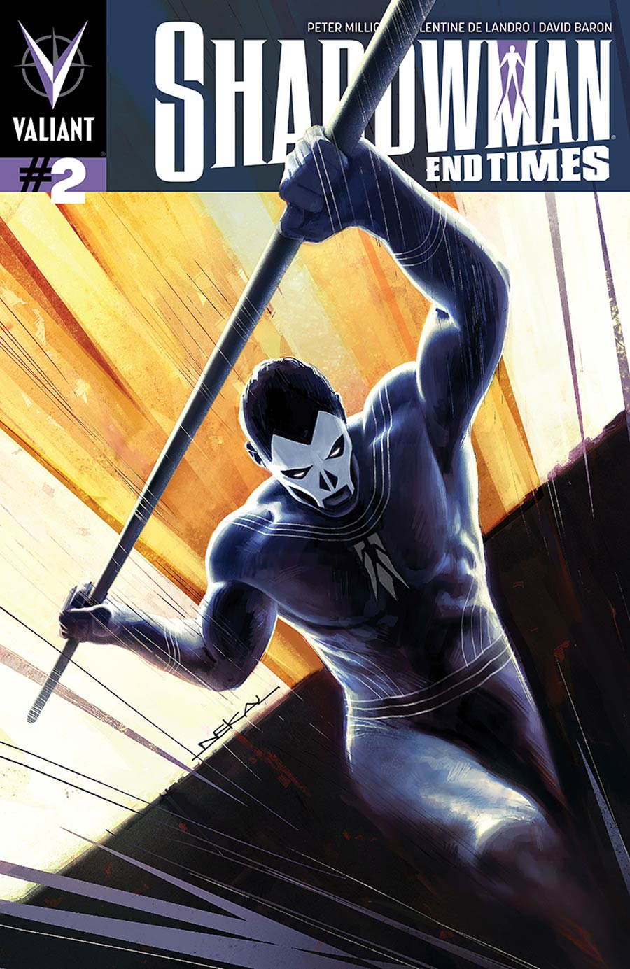 Shadowman End Times #2 Cover A Regular Jeff Dekal Cover